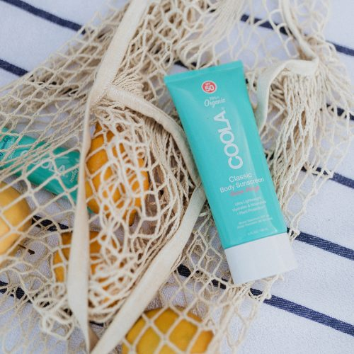 COOLA Lifestyle Photos - Shelby Kleiman Guava Mango Classic Body Sunscreen Lotion Fragrance-Free Classic Face Sunscreen Lotion We have unlimited rights to these photos and they never expire.